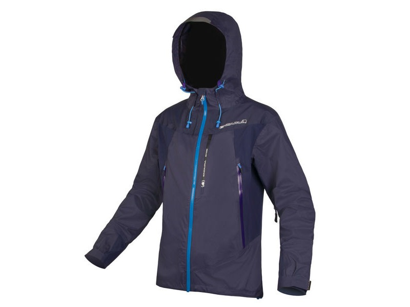 ENDURA MT500 Waterproof Jacket II Navy click to zoom image