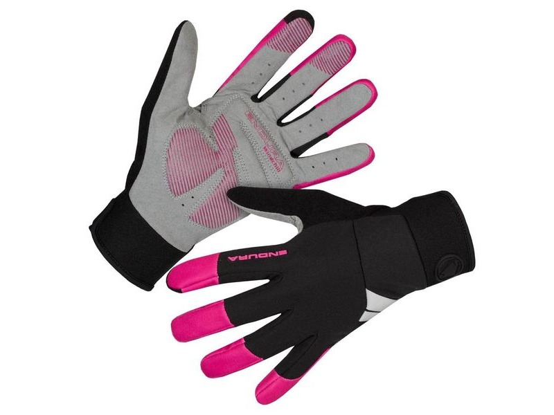 ENDURA Womens Windchill Glove Cerise click to zoom image
