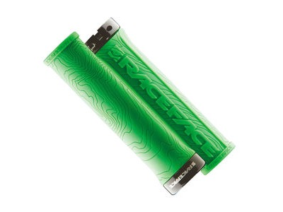 RACE FACE Half Nelson Lock On Grips Green