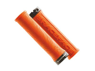 RACE FACE Half Nelson Lock On Grips Orange